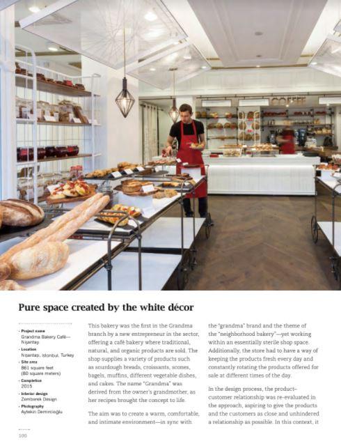 Bakery Design - Grandma Bakery Akmerkez