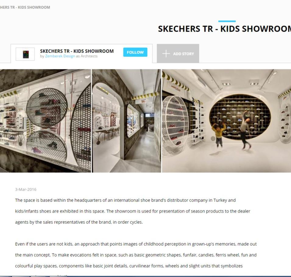 Archello - Skechers Kids Showroom