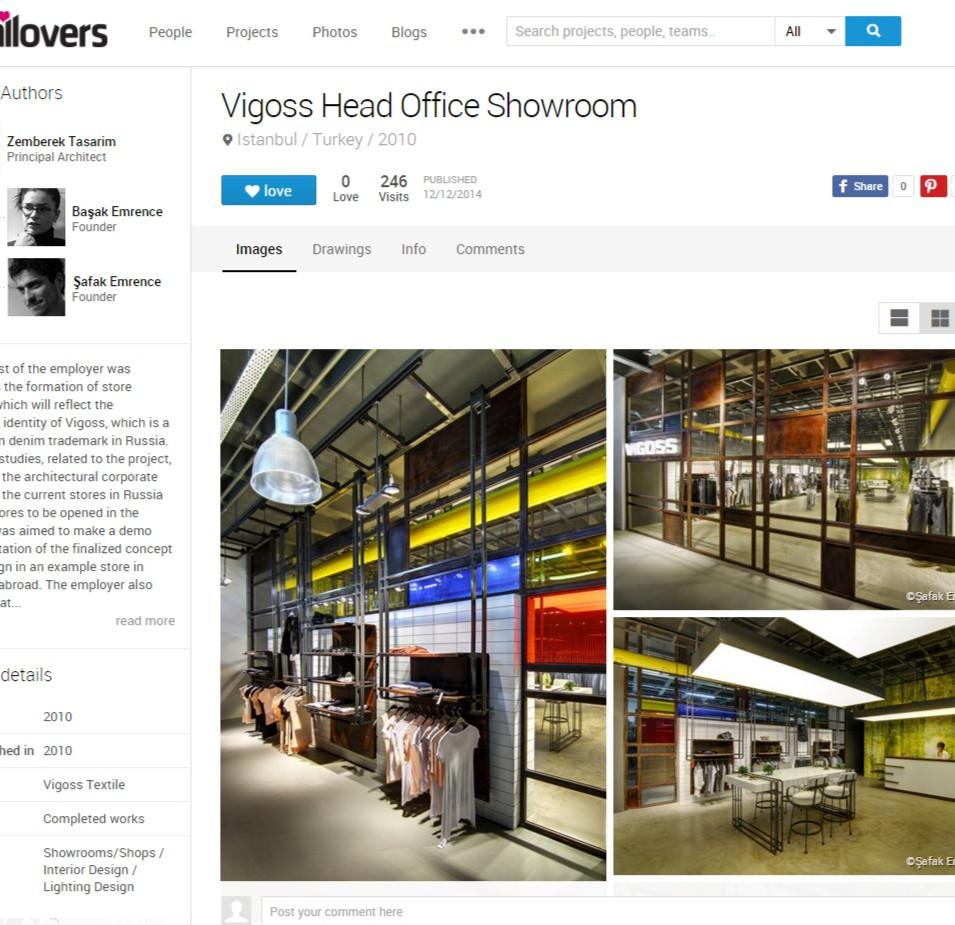 Archilovers - Vigoss Head Office