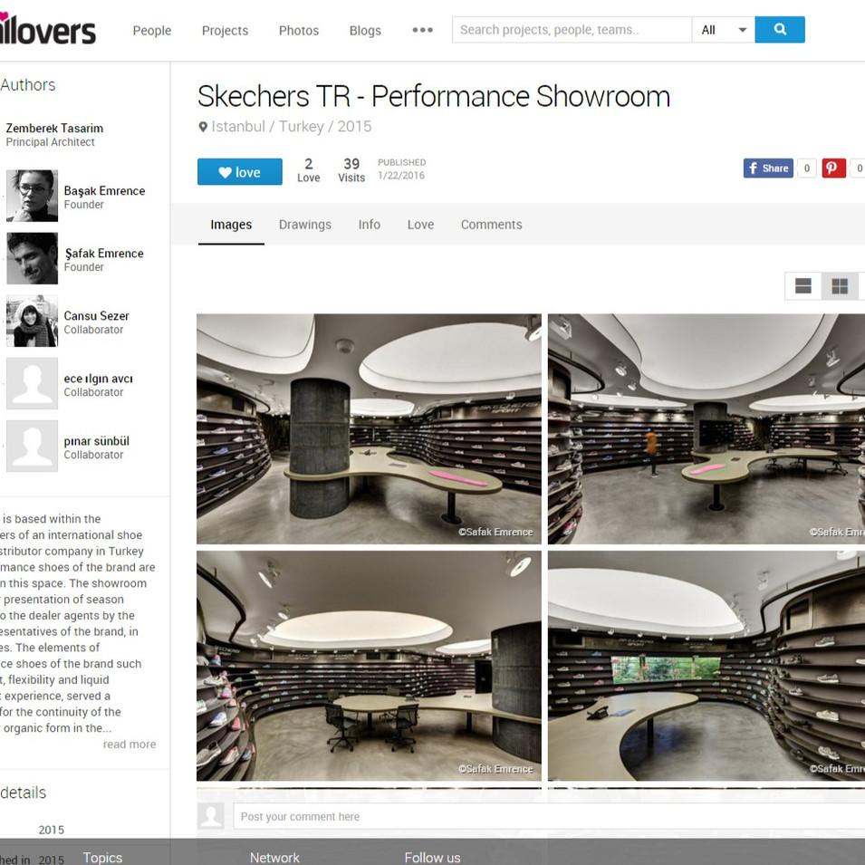 Archilovers - Skechers Performance Showroom