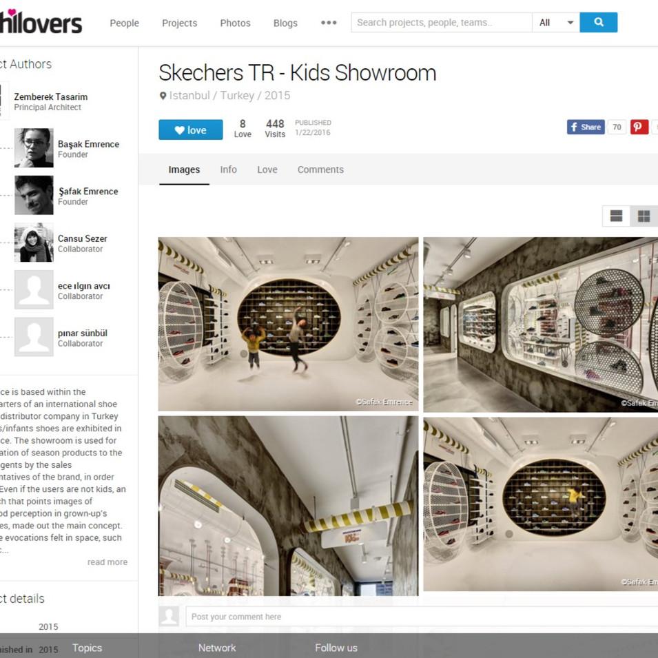 Archilovers - Skechers Kids Showroom
