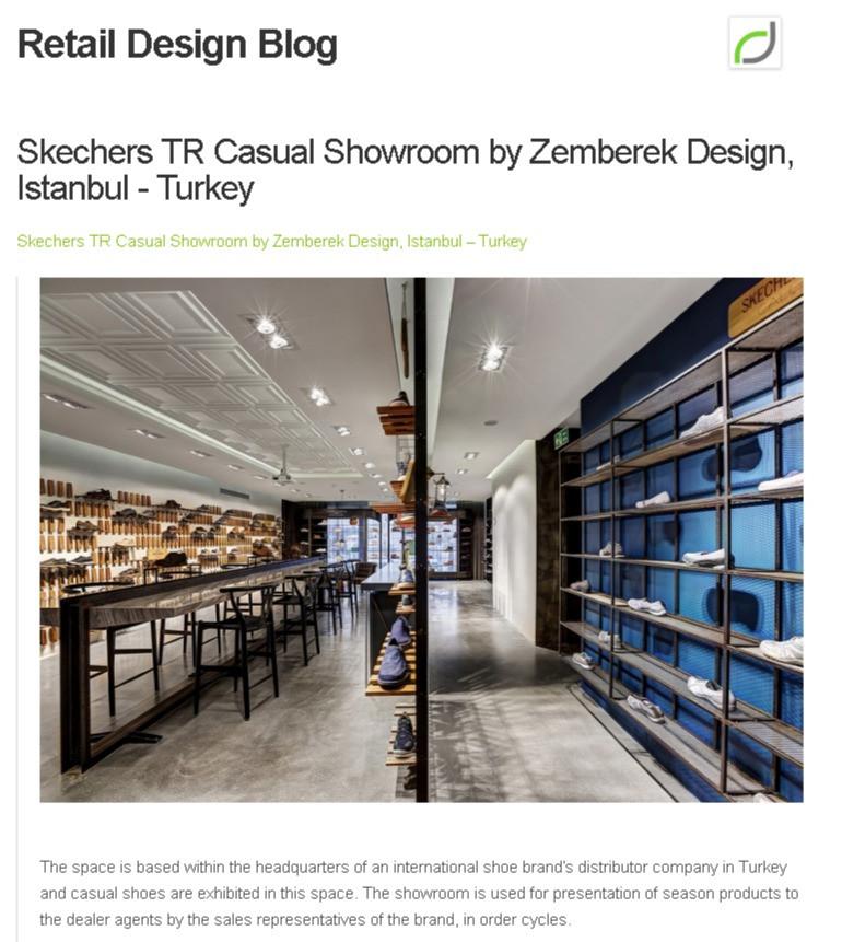 Retail Design - Skechers Casual Sh