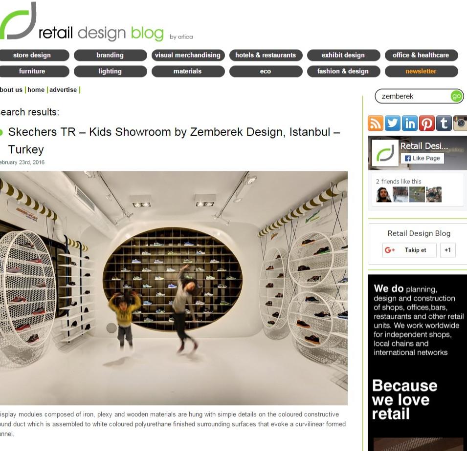 Retail Design - Skechers Kids Showroom
