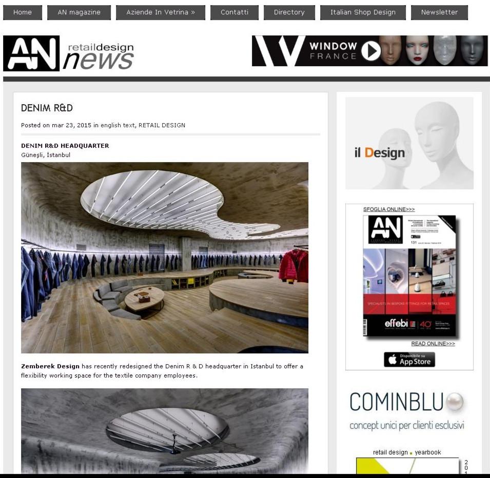 AN Retail Design News - Vigoss Denim