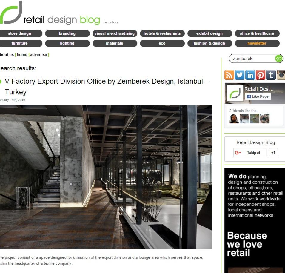 Retail Design - Vigoss V Factory