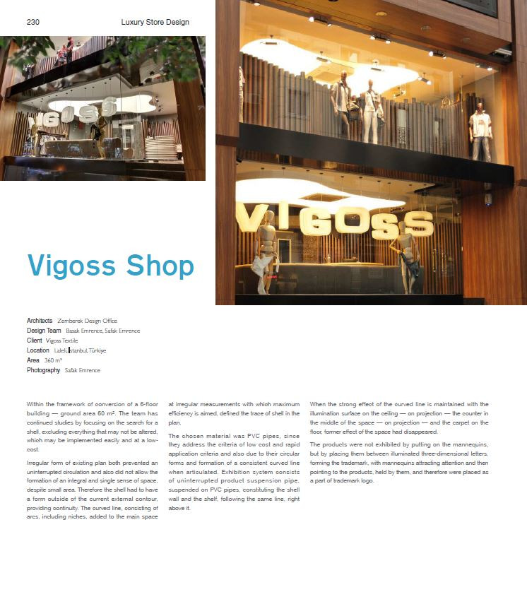 Luxury Design - Vigoss Laleli Shop