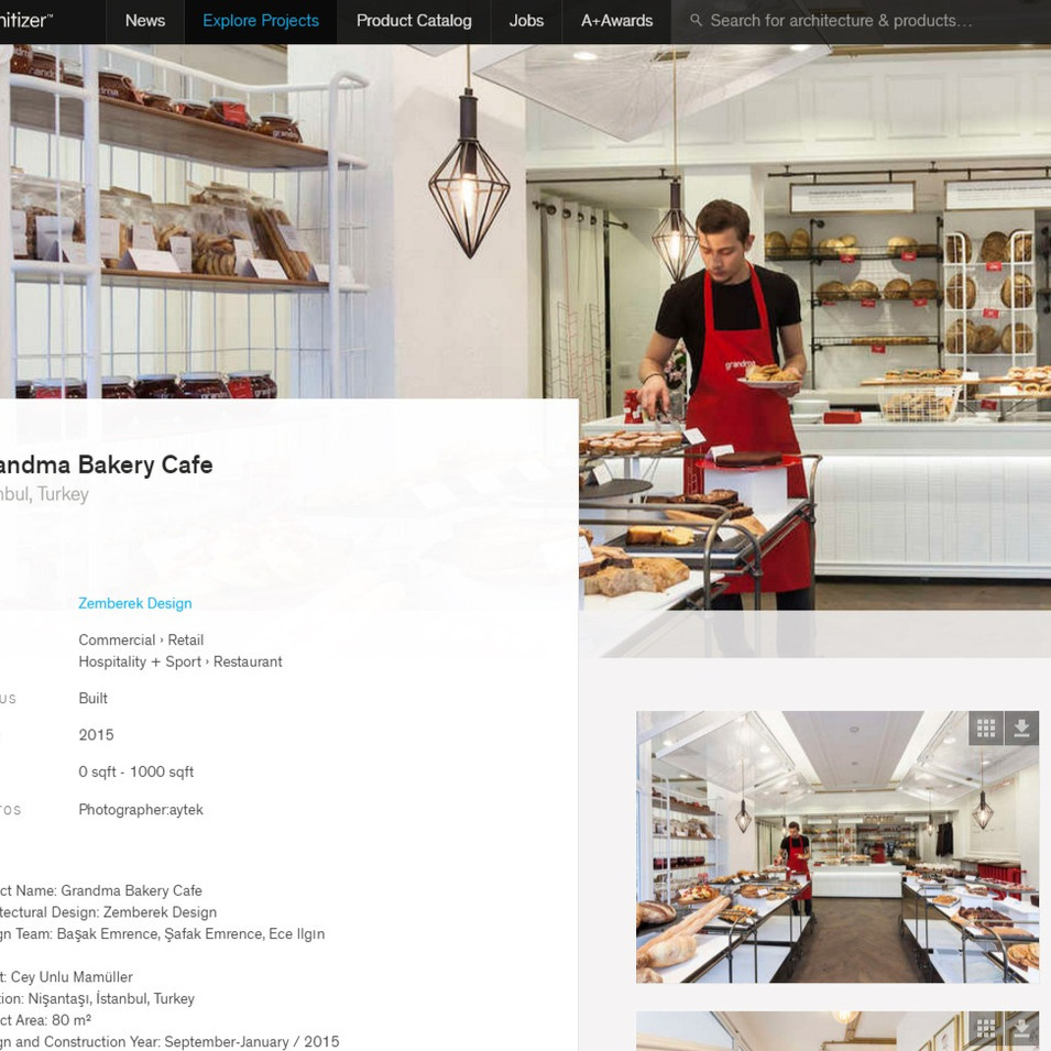 Architizer - Grandma Bakery Cafe