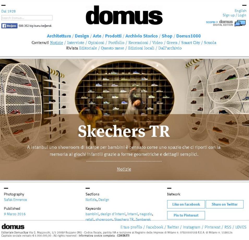 DOMUS - Skechers Kids Showroom