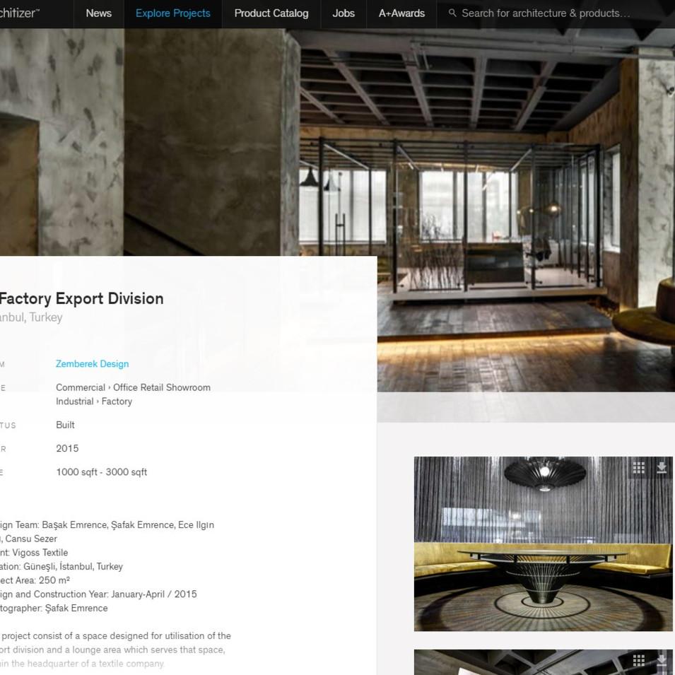 Architizer - Vigoss V Factory Export