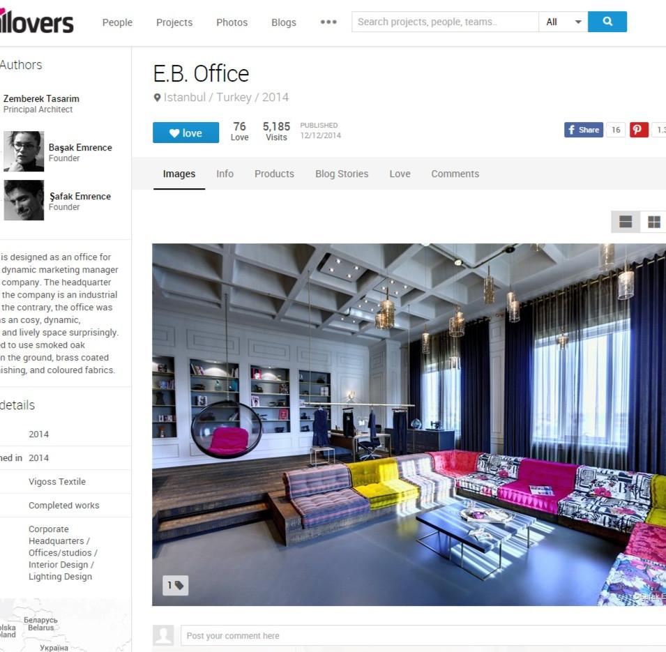 Archilovers - Vigoss E.B. Office