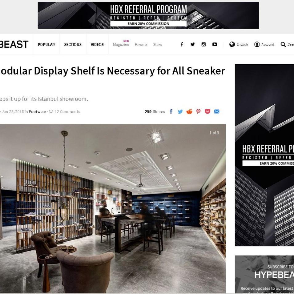Hypebeast - Skechers Casual Showroom