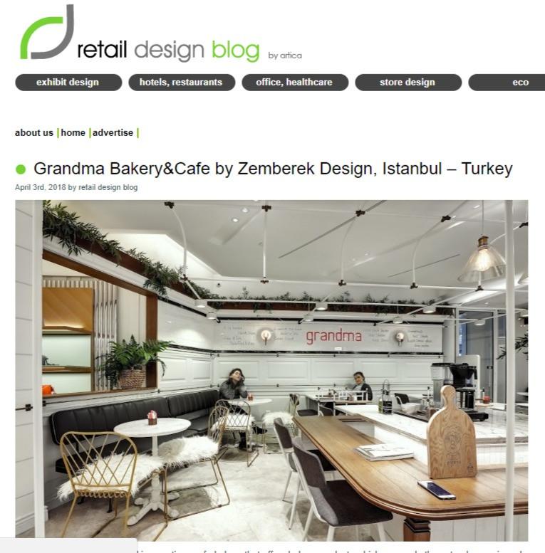 Retail Design - Grandma Akmerkez