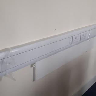 New sockets, room 2