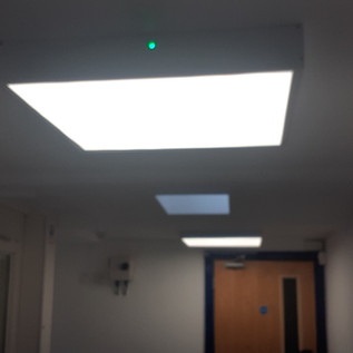 First floor landing lights