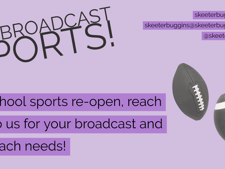 Sports Broadcasting - It's in our blood!
