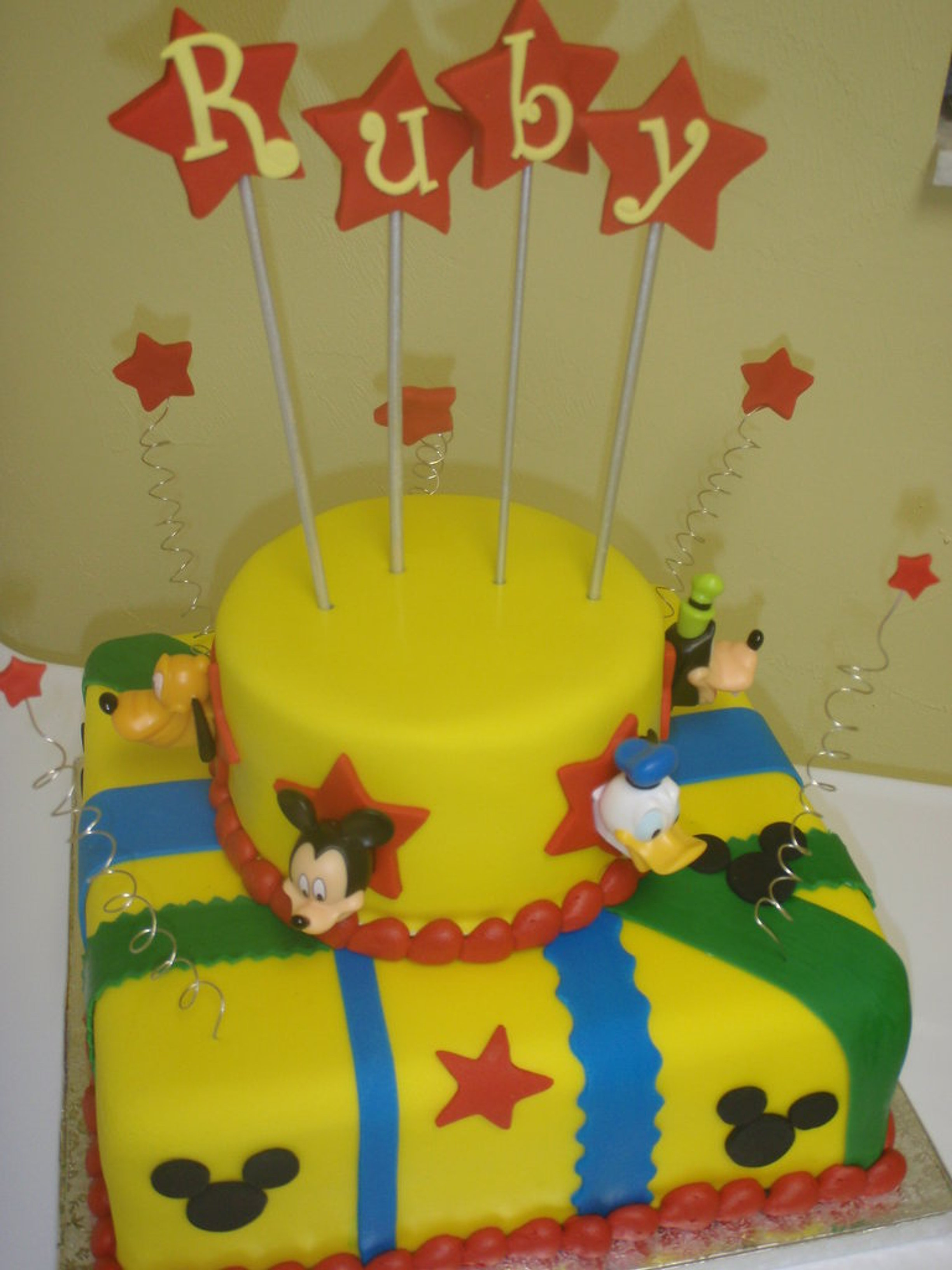 Goofy Birthday Cake Images