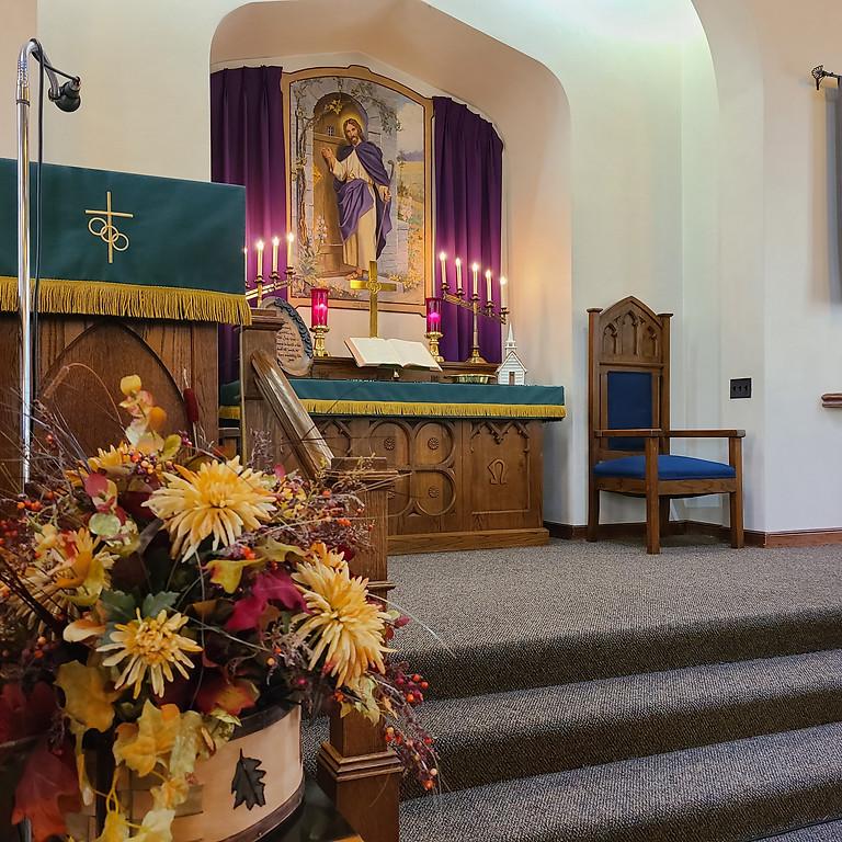 Worship October 24, 2021
