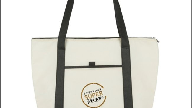 2 Tone Everyday Super Woman Boat Tote
