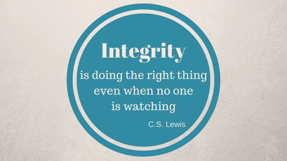 Integrity over Pride