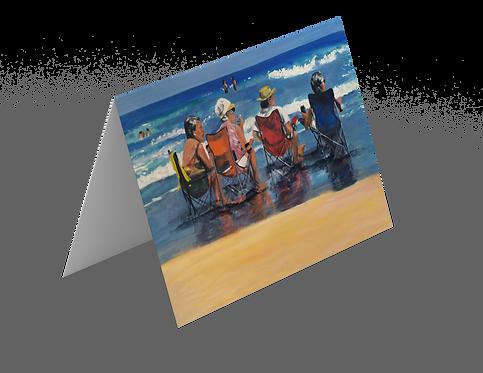 Greeting Cards - Beach Hangout