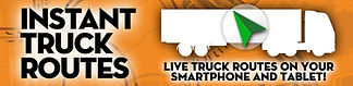 Instant truck routes logo