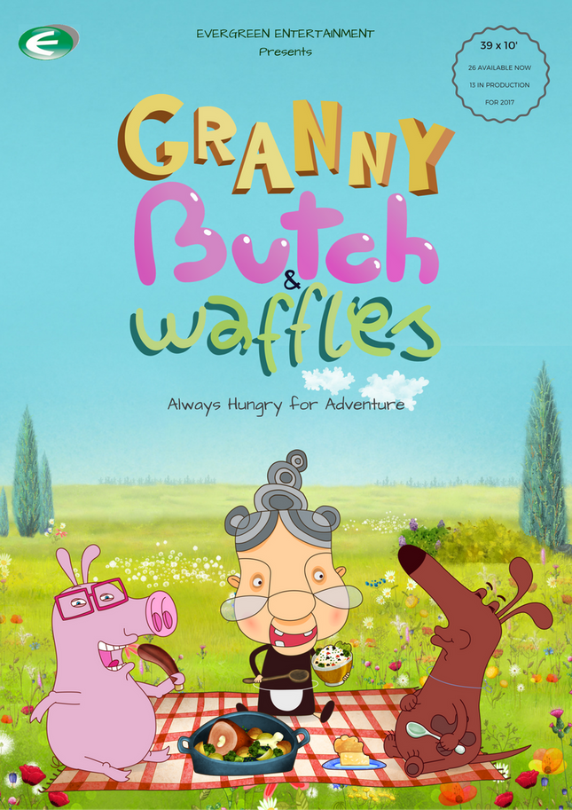 English 'Granny' episodes ready for March delivery.