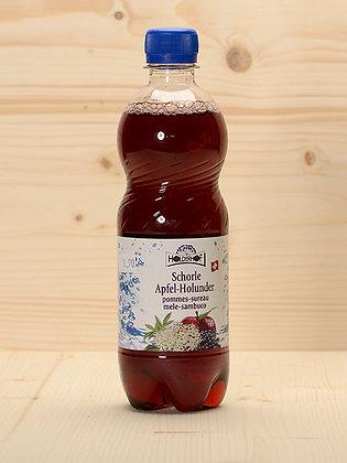 Bio-Schorle Apfel-Holunder