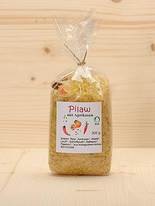 Bio Pilaw mit Aprikosen
