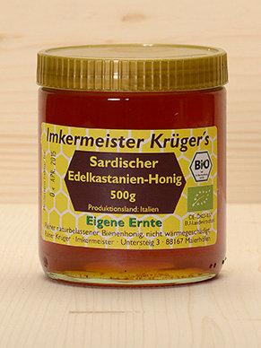 Bio Sardischer Edelkastanien-Honig