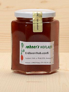Erdbeerrhabarberconfi Rohner's Hofladen
