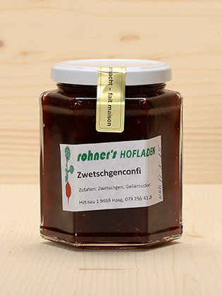 Zwetschgenconfi Rohner's Hofladen