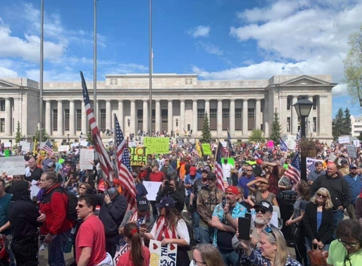 Protests Rise Across the Country Against Stay-Home Orders