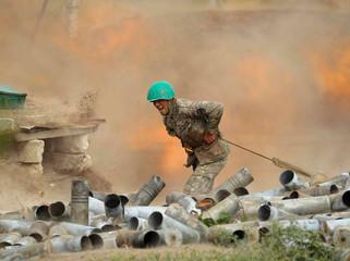 War between Armenia and Azerbaijan