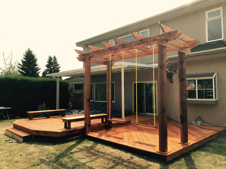 Timber cover / deck