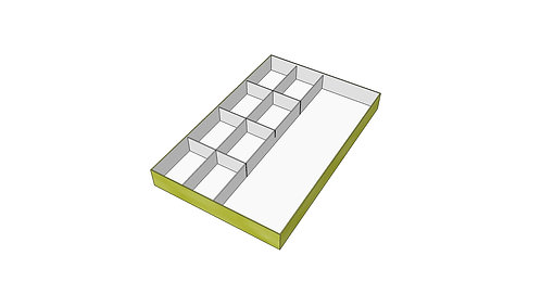 Paint well tray Type 3