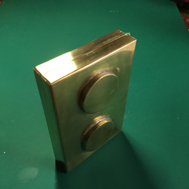 End view of box