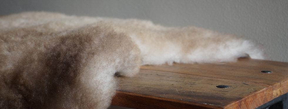 Piel de oveja marrón