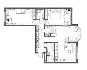 планировка 3к-квартира на пр. Притомском