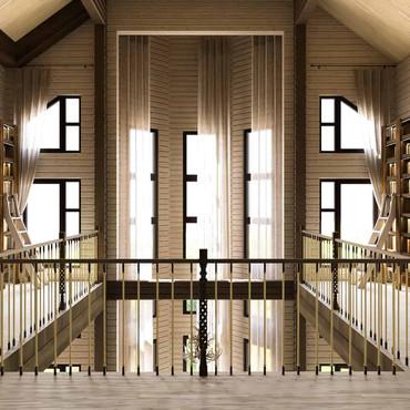 Холл второго этажа