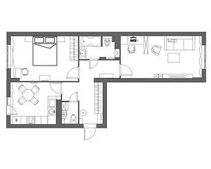 Планировка 2к-квартиры