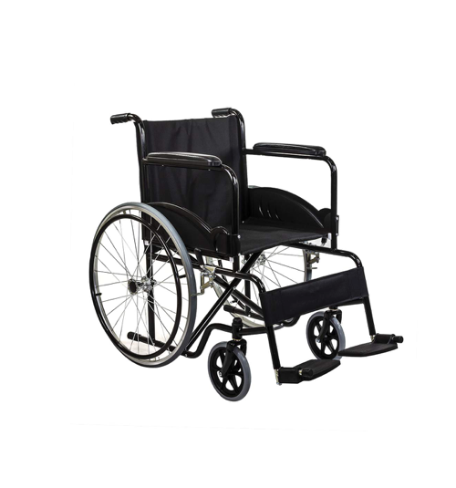 Manual Wheelchair with footrest and folding