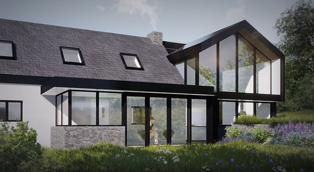 Gallt Y Rhedyn extension Evergreen Architects Anglesey North Wales Architect Architecture