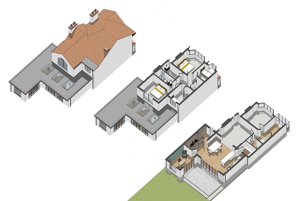 3D extension Allerton Liverpool Architect Architecture