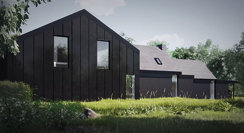 Gallt Y Rhedyn Extension Evergreen Architects Anglesey Wales