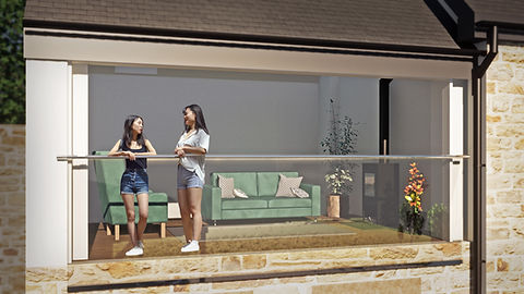 Gorffwysfa balcony