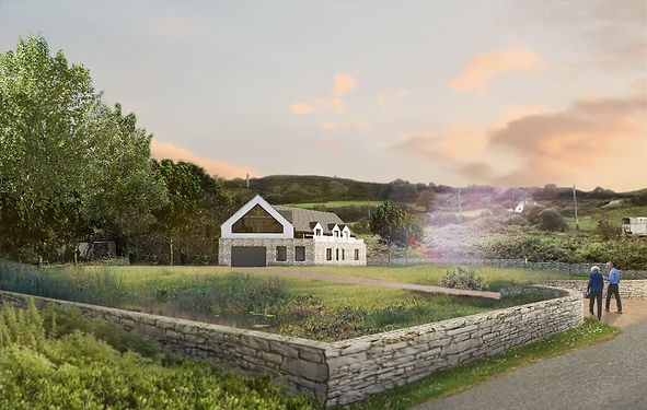 Pentrans new build beach house Evergreen Architects Anglesey North Wales Architect Architecture