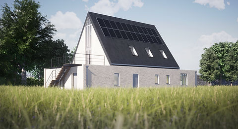 Cheese factory visualisation Anglesey North Wales Architect Architecture