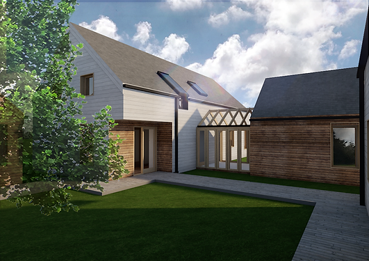 Nyth Pren straw bale new build house Evergreen Architects Anglesey North Wales Architect Architecture