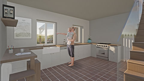 Gorffwysfa kitchen