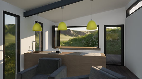 Cabin interior design architecture anglesey north wales